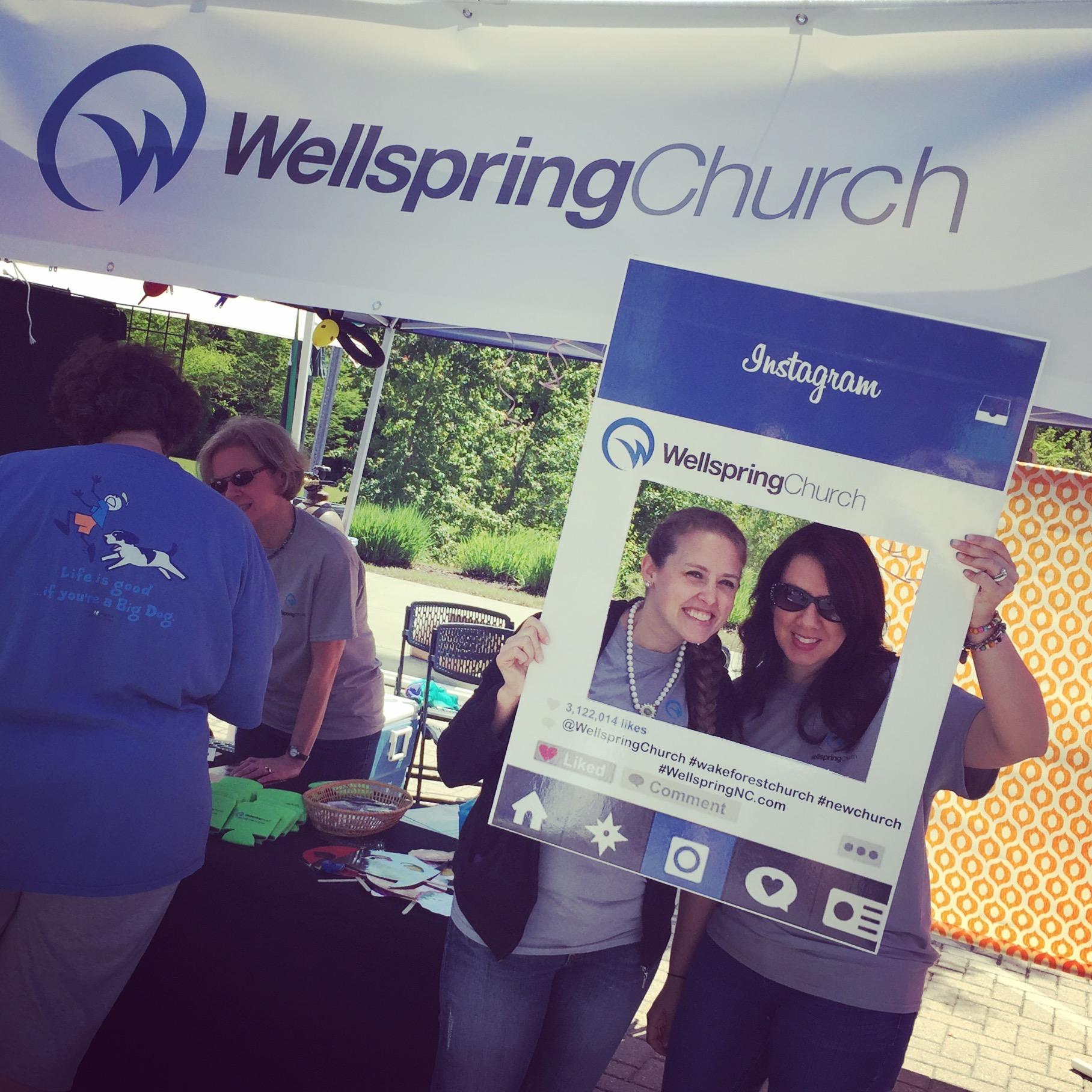 Meet in the Street Wellspring Church Wake Forest • Wellspring Church