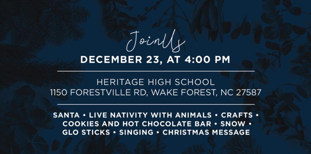 Christmas at Heritage