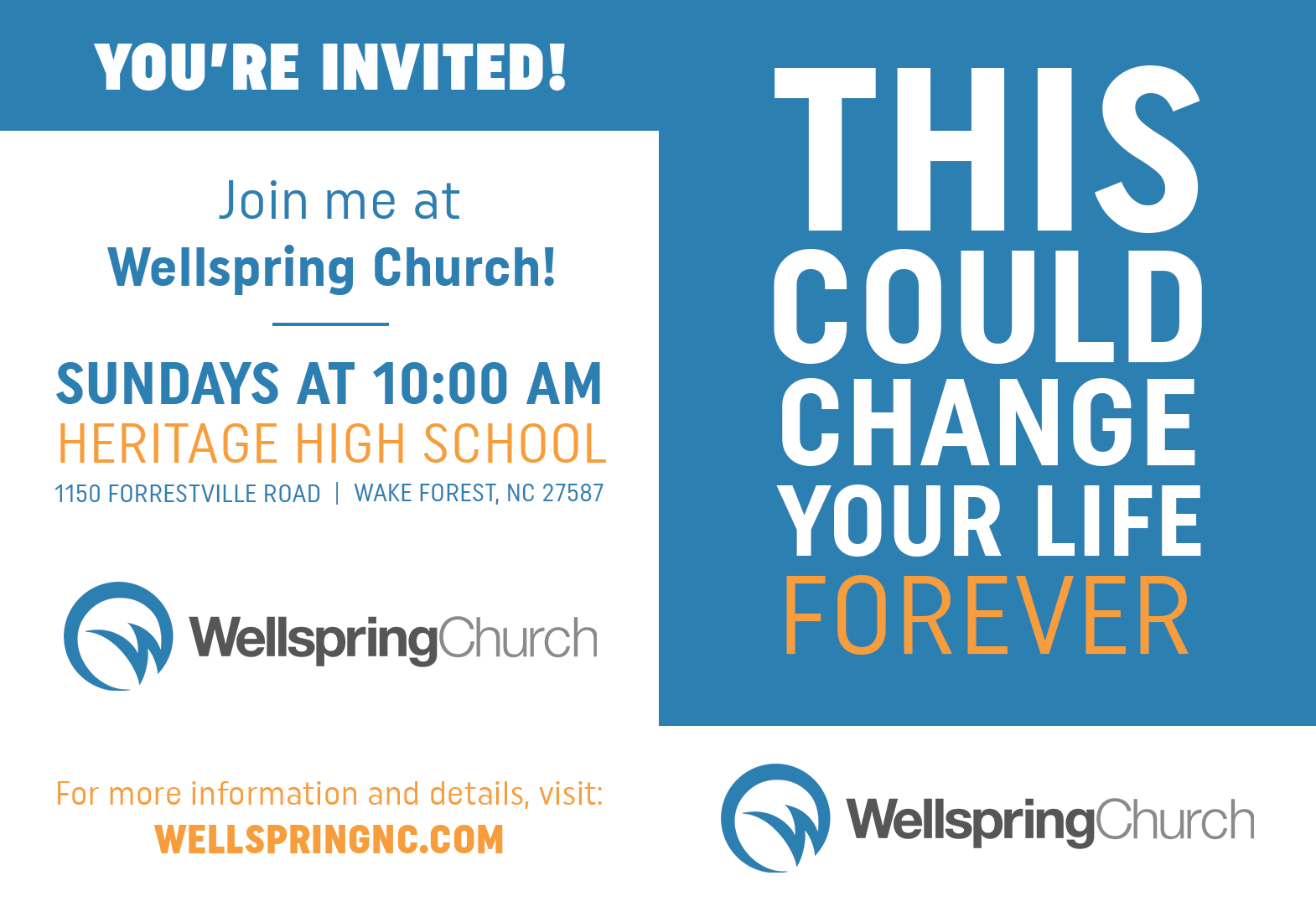 Church in Wake Forest NC, Church in Youngsville NC, Church in Heritage, Church in Rolesville NC, Heritage High School