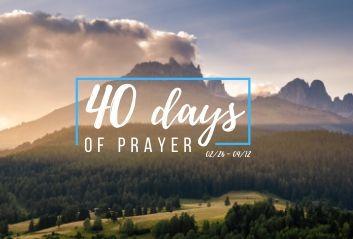 40 Days Of Prayer | Church in Wake Forest - North Carolina NC, Church in Heritage High School, Church in Youngsville NC, Church in Rolesville NC